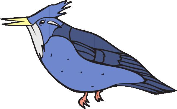 Blue Kingfisher Clip Art at Clker.com.