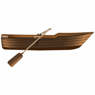 HD Wooden Boat Png , Png Download.