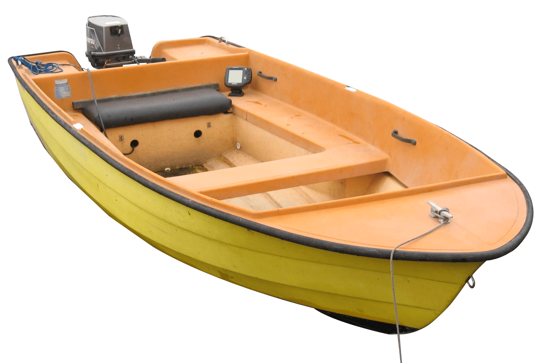 Small Fishing Boat transparent PNG.
