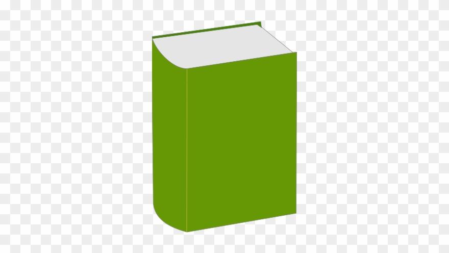 Green Book Clip Art.