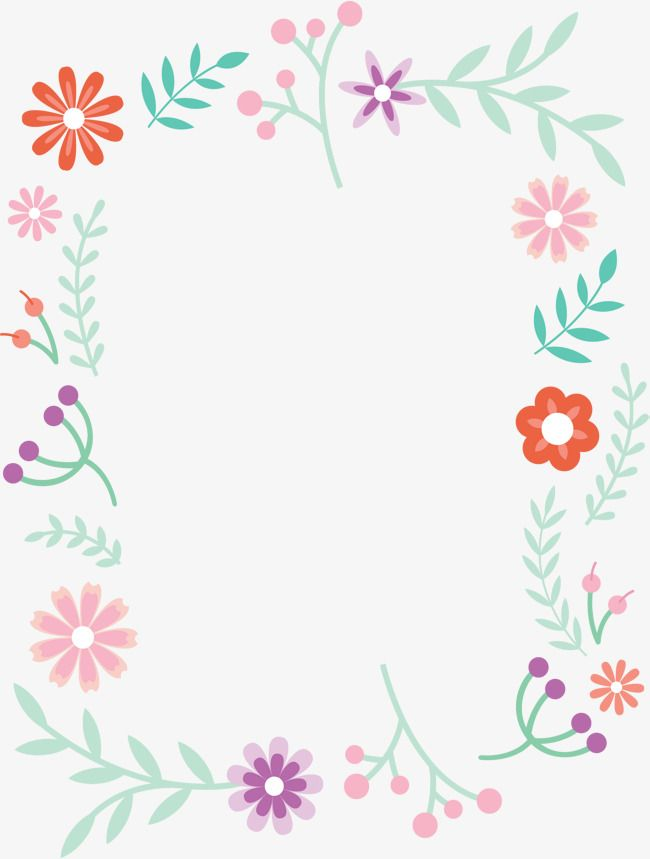 Small Fresh Cute Borders, Vector Png, Small Fresh, Lovely.