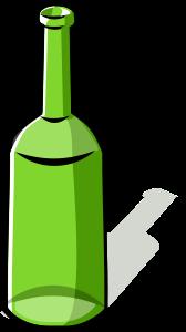Green bottle Clipart, vector clip art online, royalty free design.