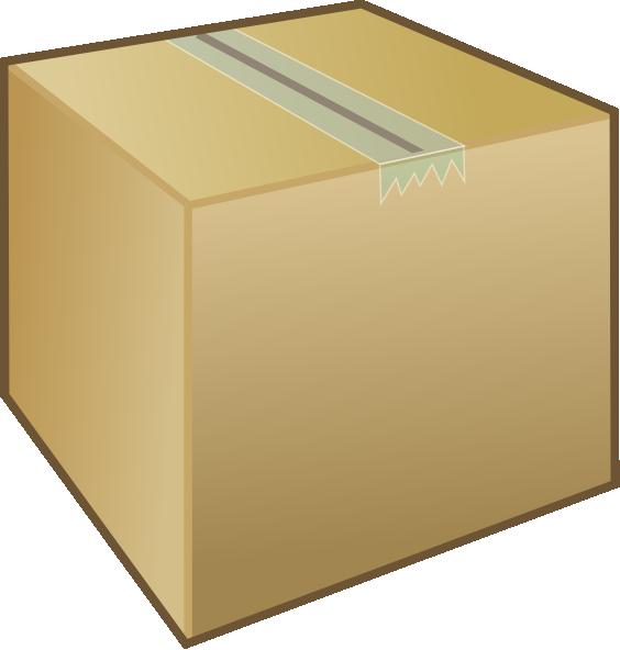 Small Box Clipart.