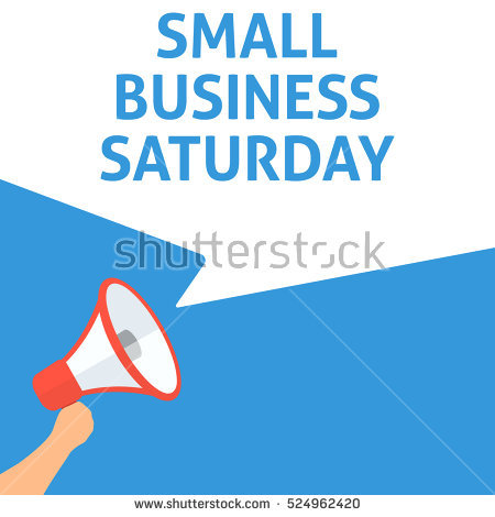 Small Business Saturday Stock Images, Royalty.