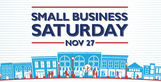Enchanted Village. Small Business Saturday.