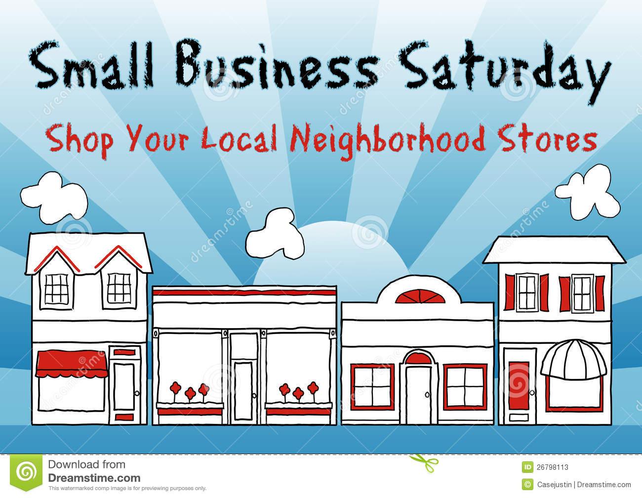 Small Business Saturday Stock Photos.