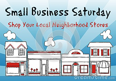 Small business saturday clipart.
