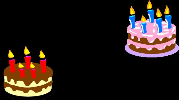 Small Cake Cliparts.