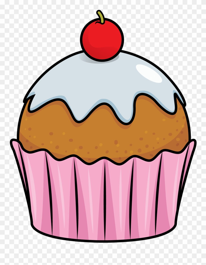 Small Cupcake Clipart.