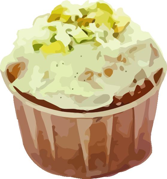 Small Cup Cake Clip Art at Clker.com.