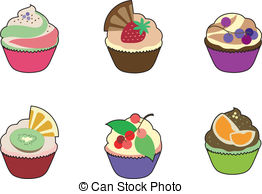 Small cakes Vector Clip Art EPS Images. 1,216 Small cakes clipart.
