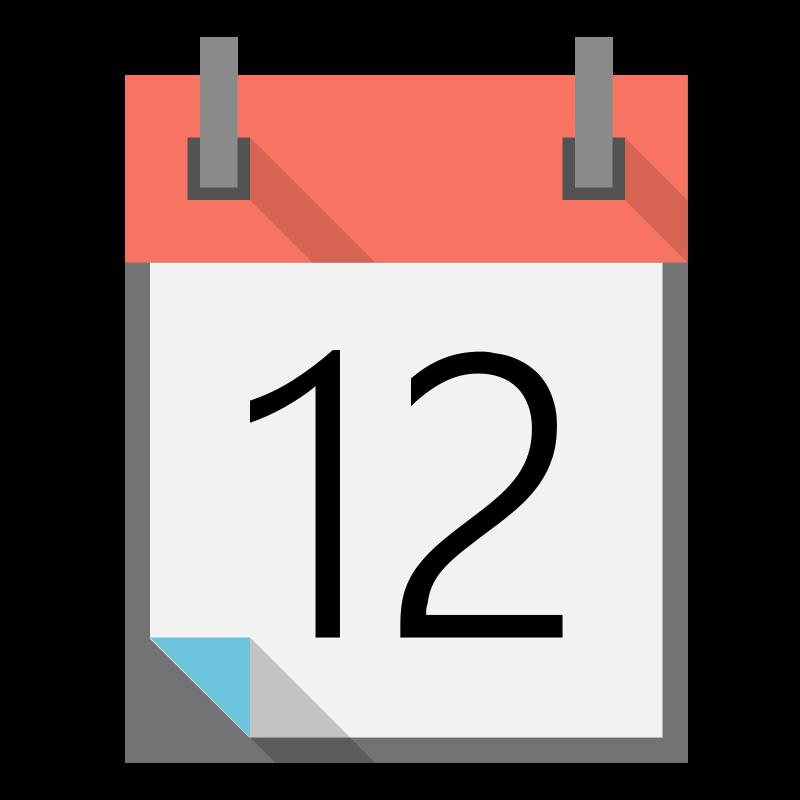 Small Calendar Clipart.