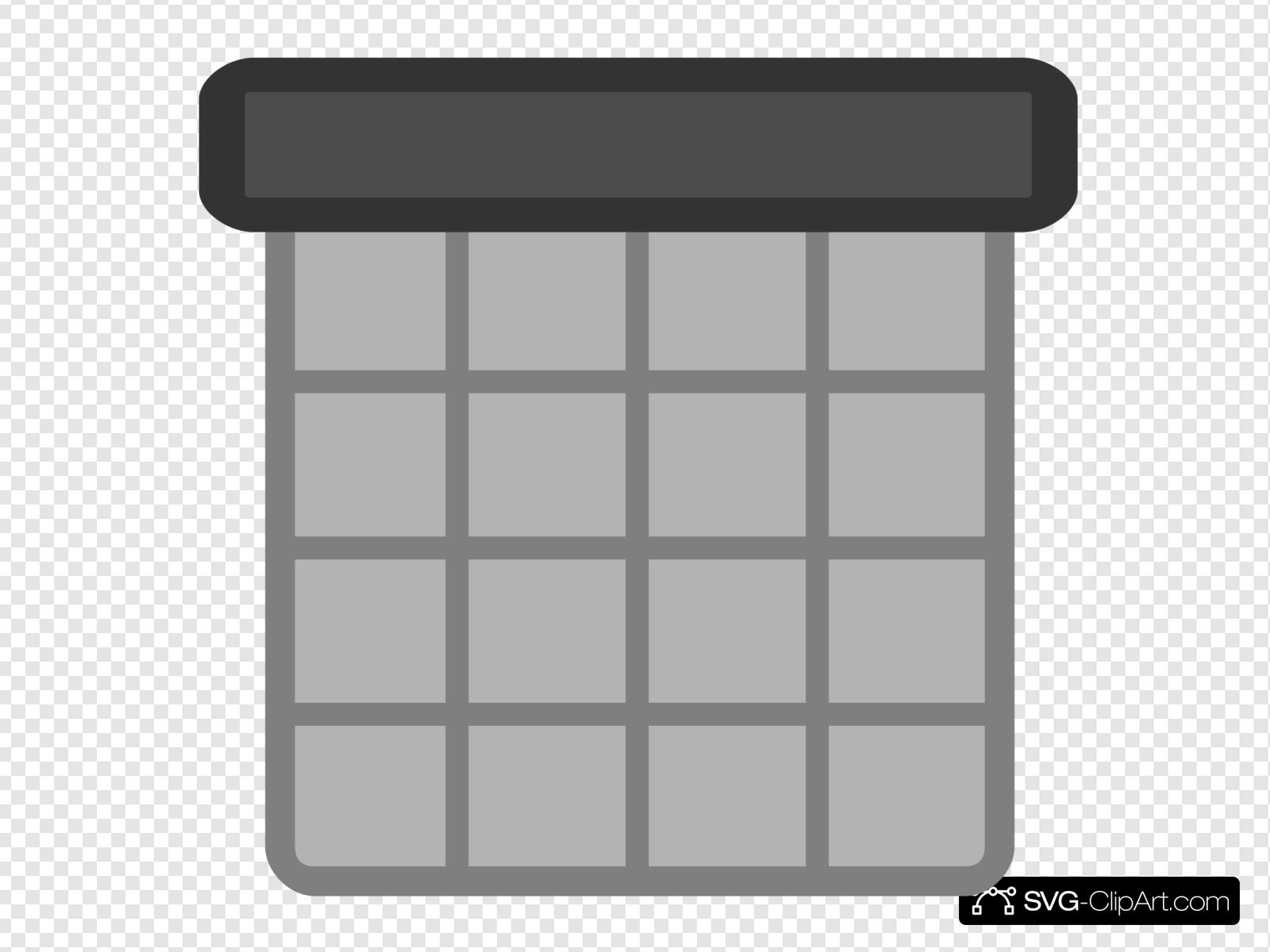 Small Calendar Clip art, Icon and SVG.