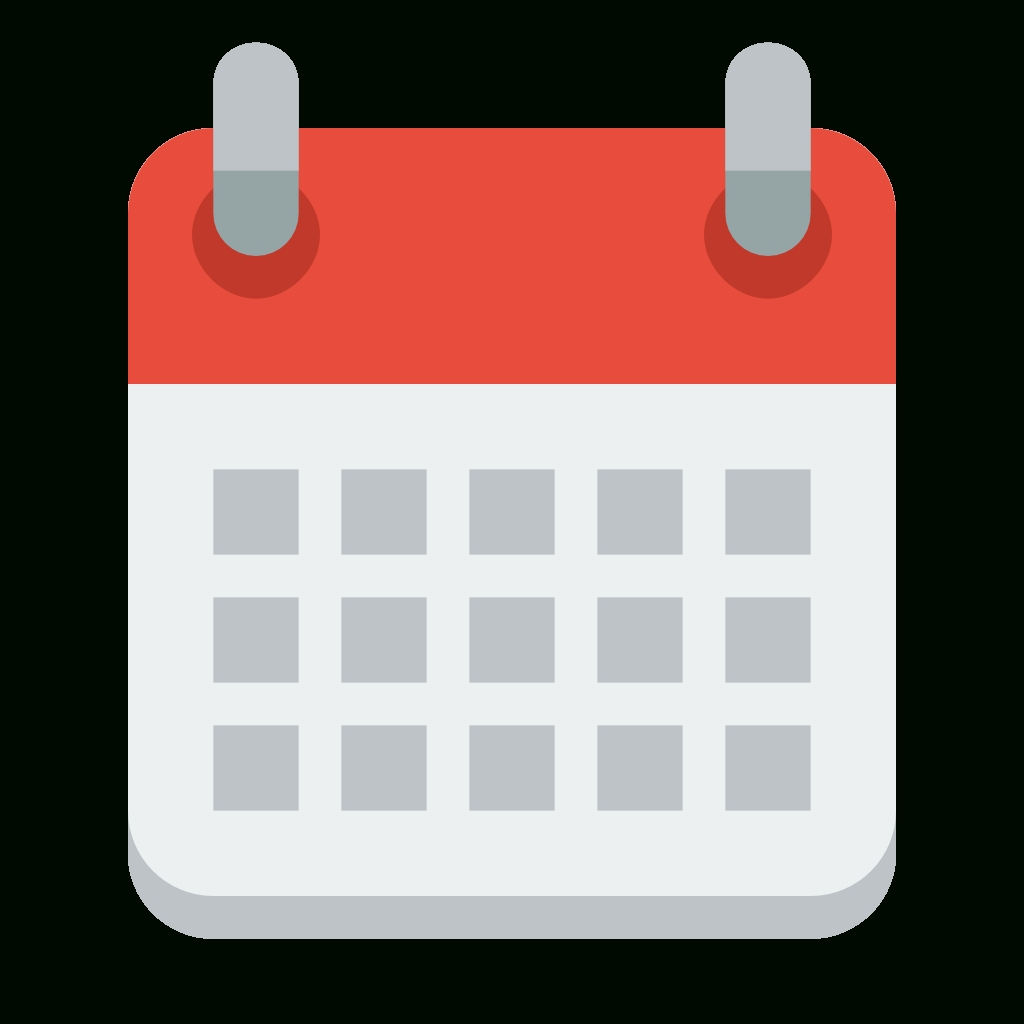 Calendar Icon Png Small • Printable Blank Calendar Template.