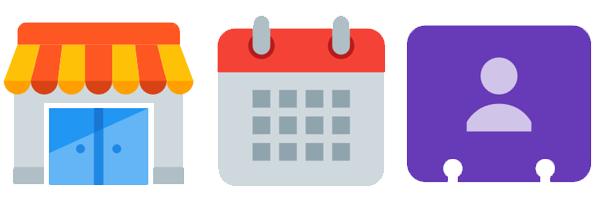 Small Calendar Icon #326649.