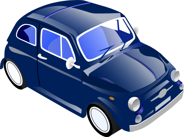 Small Car Clipart.