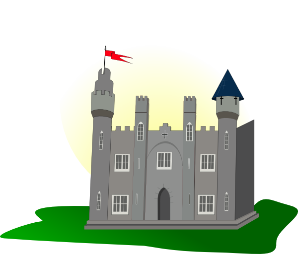 Castle 2 Clip Art at Clker.com.