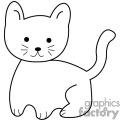 Cat Clip Art Image.