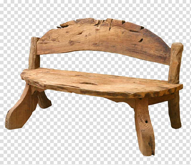 Table Chair Bench Stool Wood, Park small chair transparent.