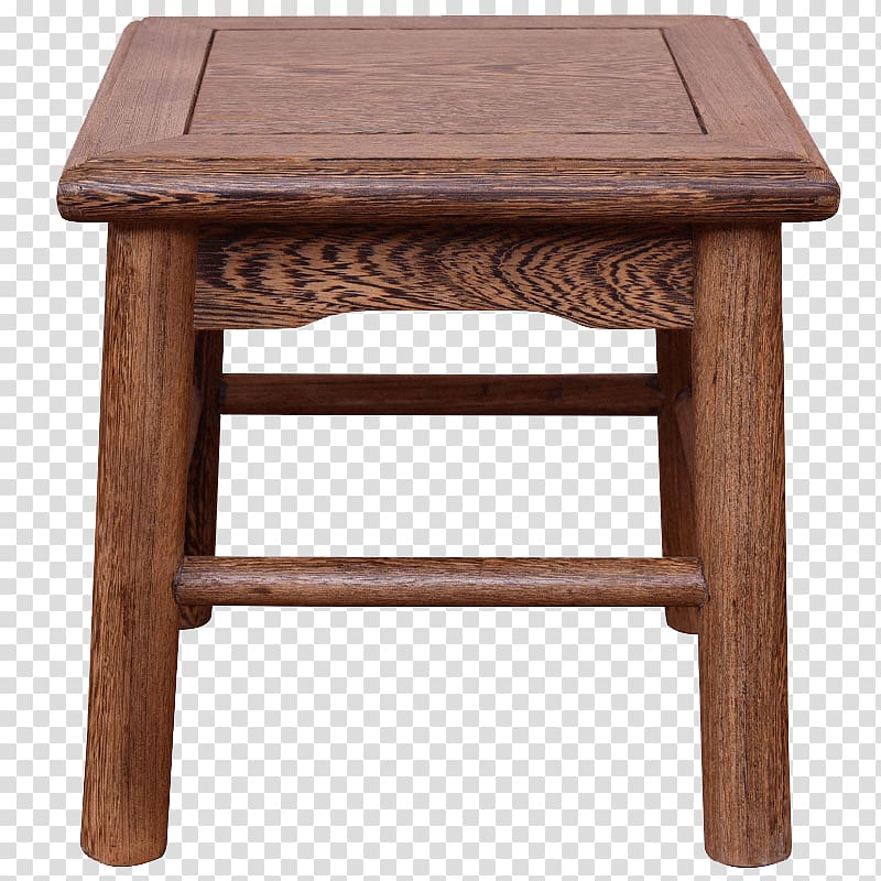 Stool Table Chair, Bamboo chair small square stool.