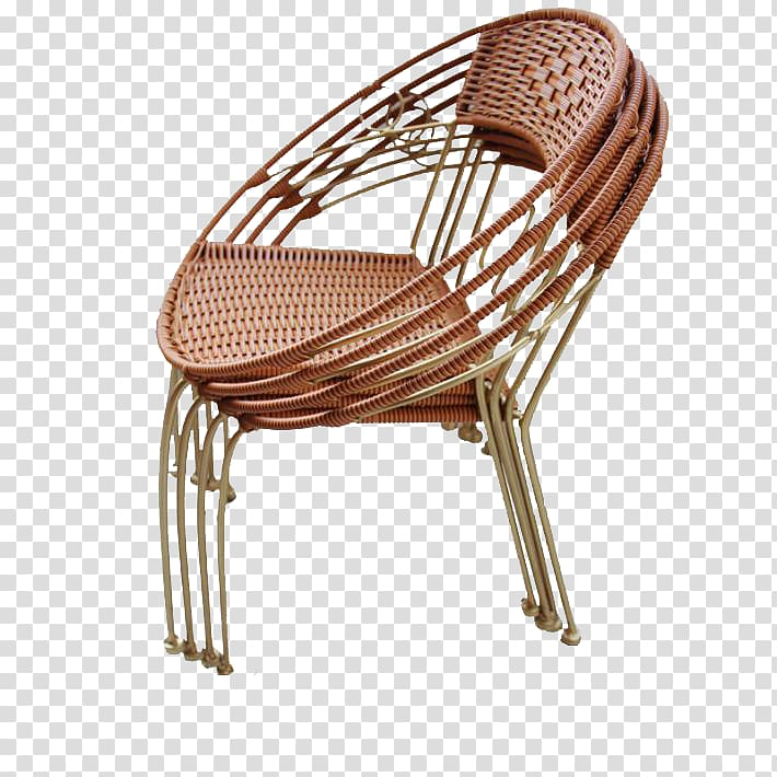 Chair Calameae Rattan Wicker, Small Outdoor rattan chair.