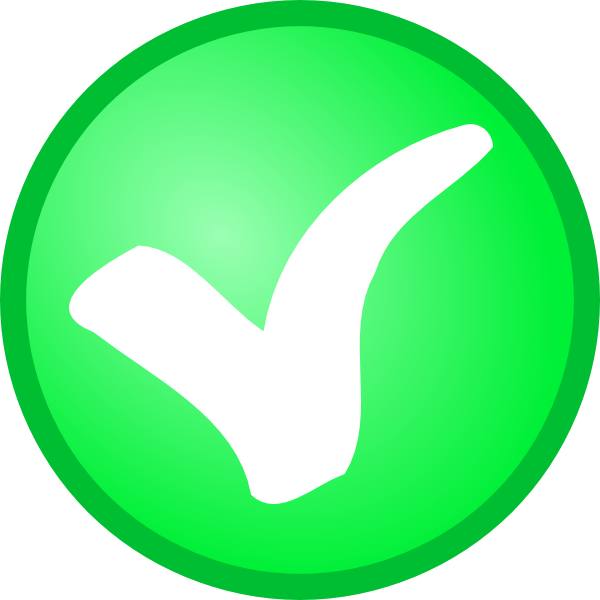 Small Green Check Mark Clip Art at Clker.com.