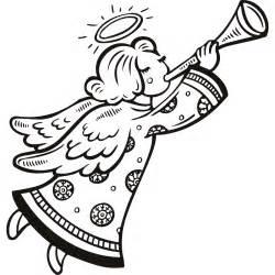 Similiar Black And White Christmas Angel Keywords.