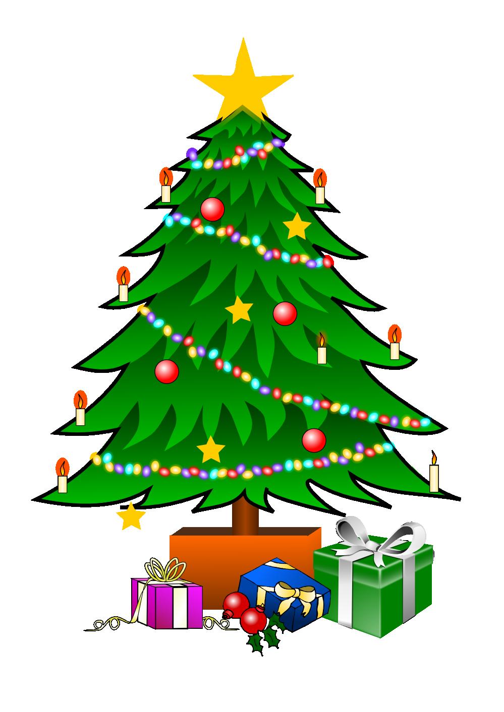Small Christmas Tree Drawing.