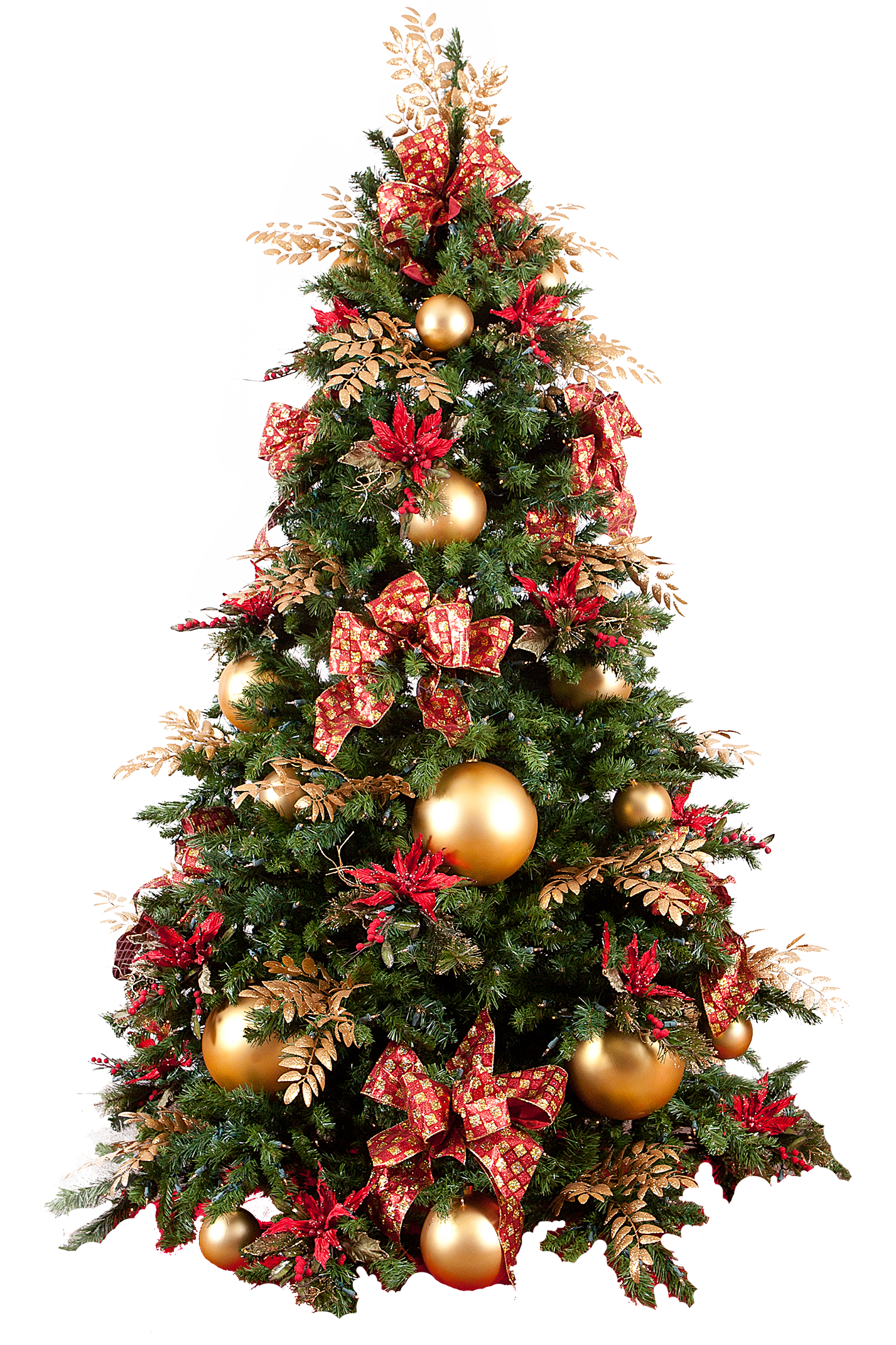 Christmas tree PNG images free download.