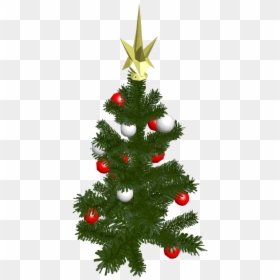 Christmas Trees Black And White, HD Png Download.