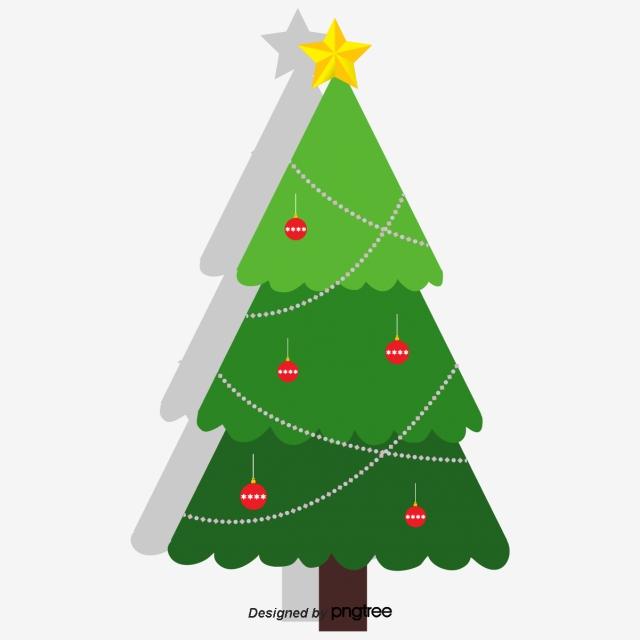 A Decorative Christmas Tree, Christmas Tree, Christmas.