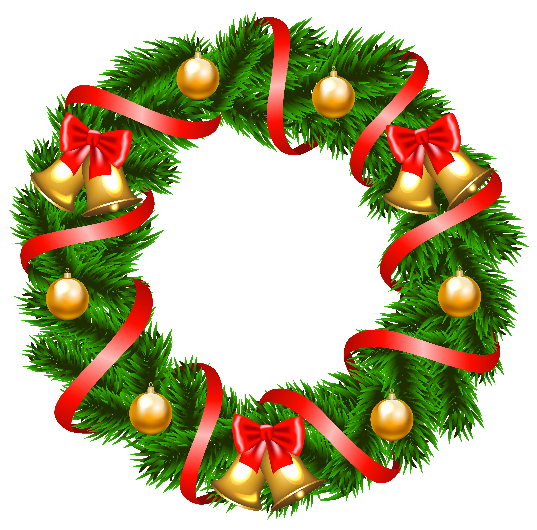 Christmas clipart wreath, Christmas wreath Transparent FREE.