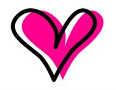 Small Hearts Clip Art.