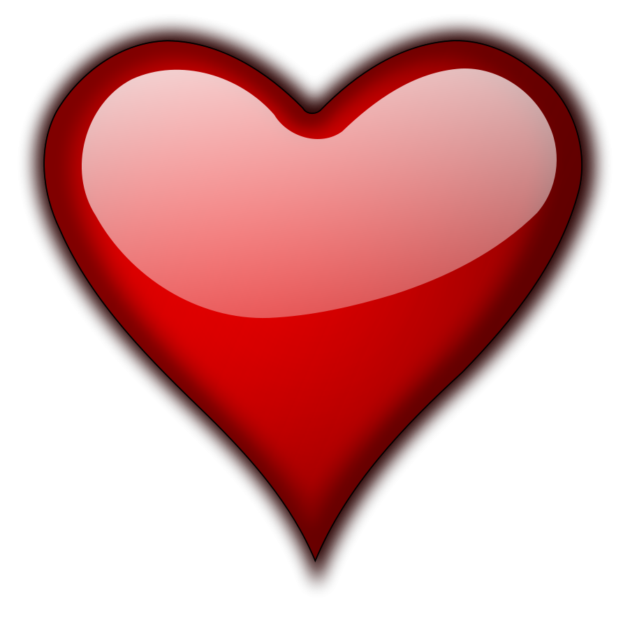Heart Clipart, vector clip art online, royalty free design.