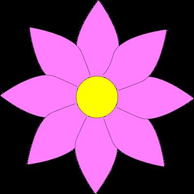 Small Flower Clip Art.