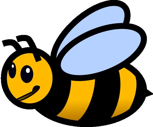 small bee clip art.