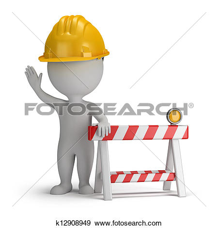Clipart of Working Construction Hard Labor k7196554.