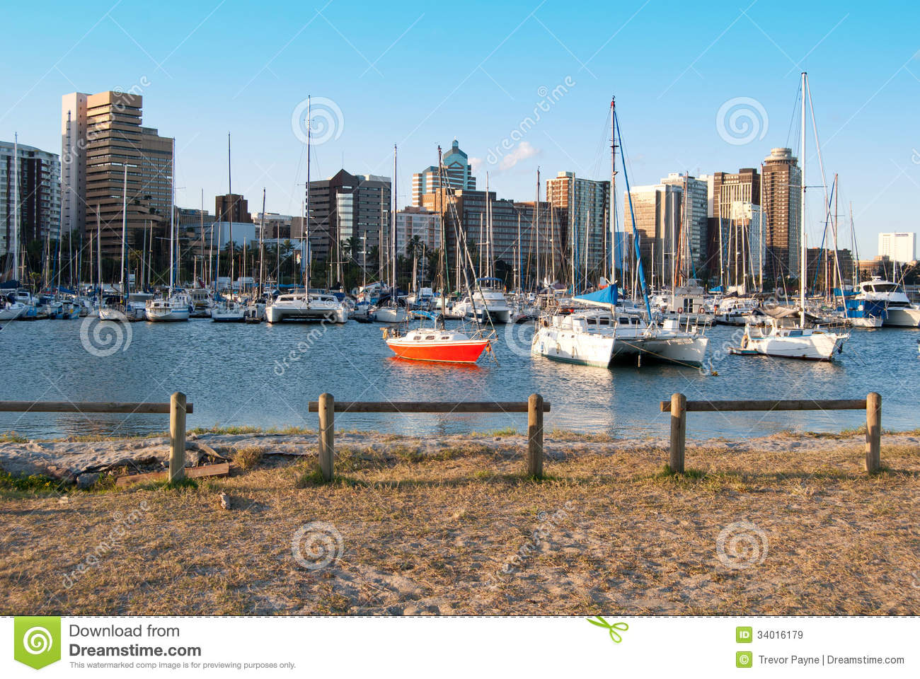 Durban Small Craft Harbour Royalty Free Stock Images.