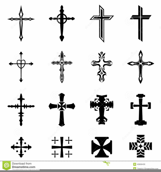 Ornate Cross Clipart Free.