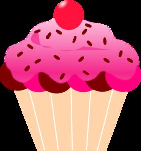 Pink Cupcake Clip Art at Clker.com.