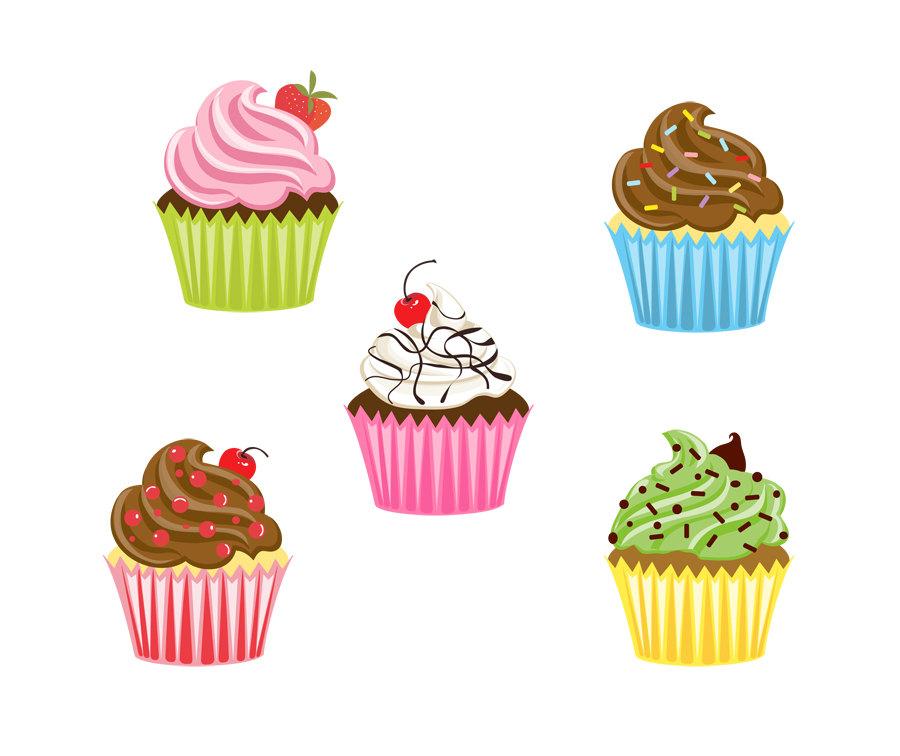 cupcake clip art #55.