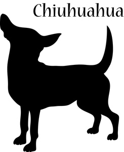 Small Dog Silhouette Free Clipart.