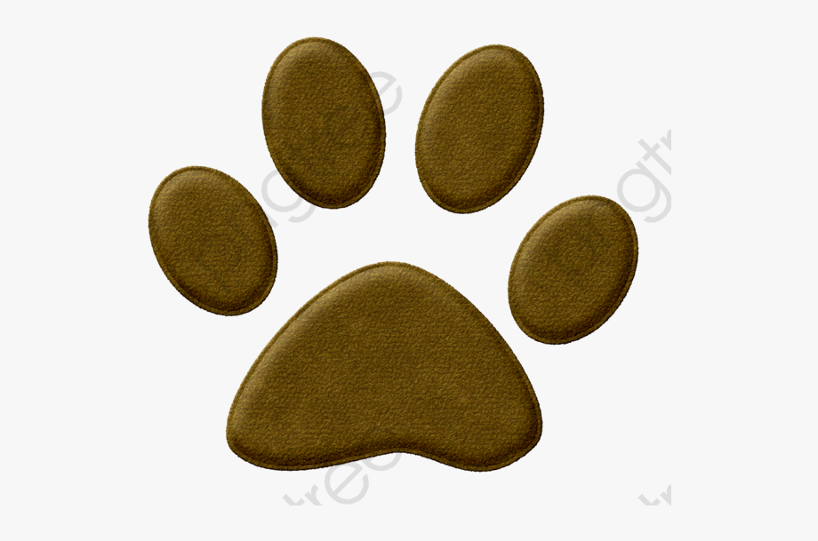 Dog Paw Clipart Transparent Background.