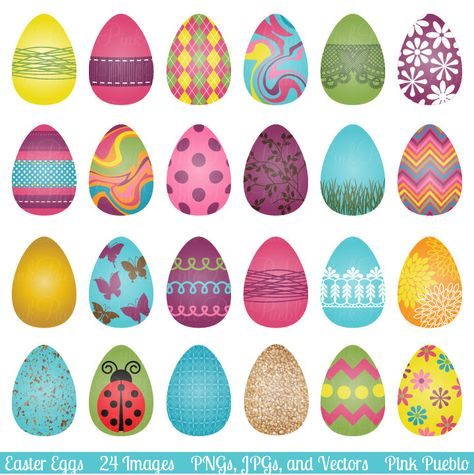 Small Easter Eggs.
