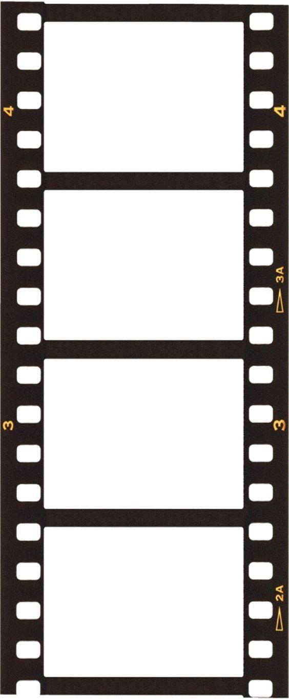 Film Strip: Small Film Format Clipart