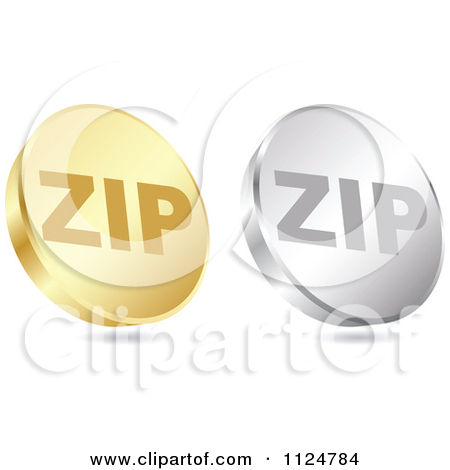 Clipart of a Floating Round Silver and Red Film Reel Icon.