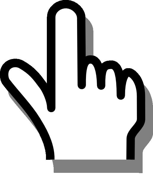 Finger Clip art.