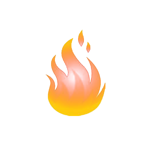 Flame Cartoon Burn.