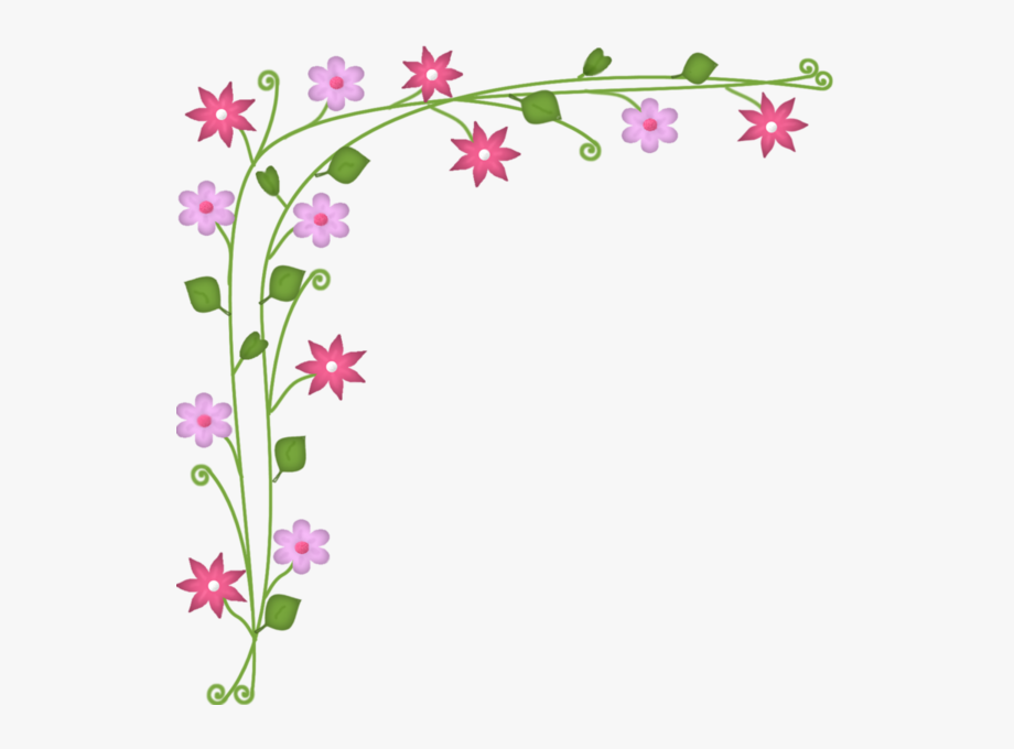 Small Flowers, Art Flowers, Flower Borders, Art Frames.