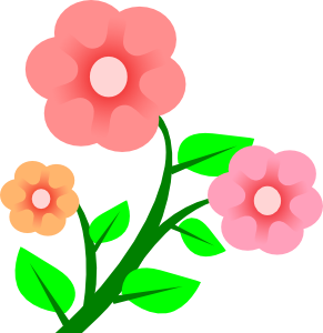 Small Flower Clipart.